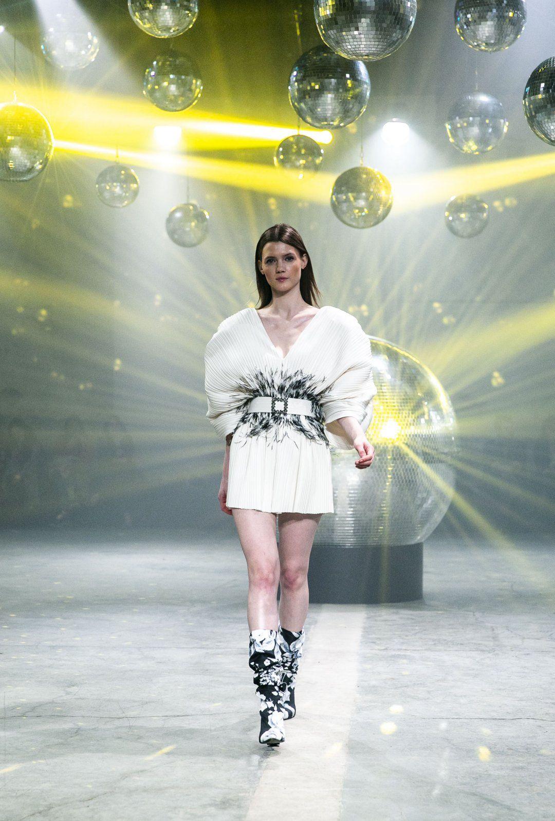 JASMINE WHITE DRESS & BELT