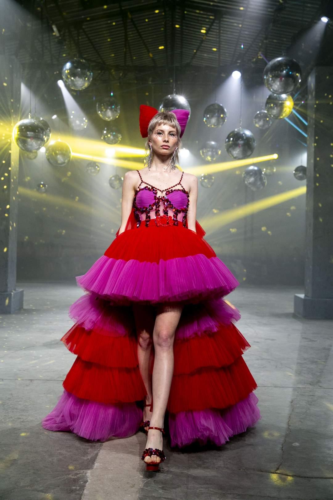 modern Cinderella gown
